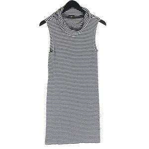 Dolan Left Coast Striped Cowl Neck Dress